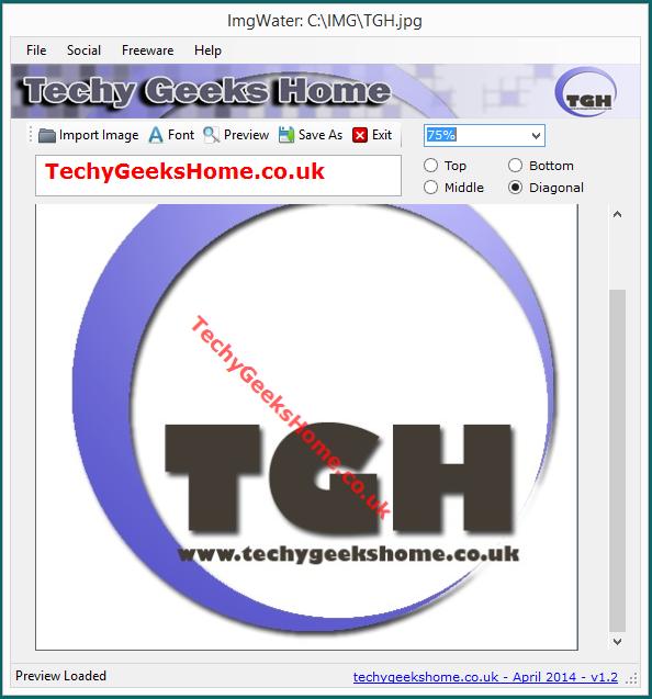 ImgWater v1.3 Released - Free Image Watermarking Tool 5