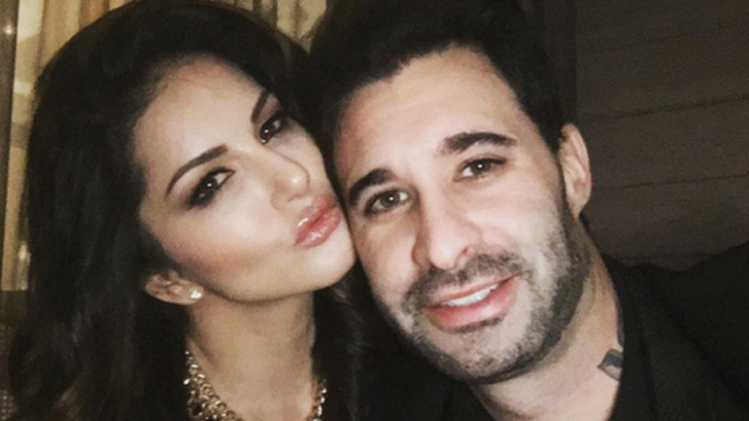 Sunny Leone With Husband Daniel Weber Sunny Leones Hot -3099