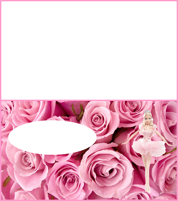 Barbie Princes Ballerina Free Printable Invitations, Labels or Cards.