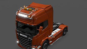 GTM Scania R & Streamline Kelsa Double Roofbars