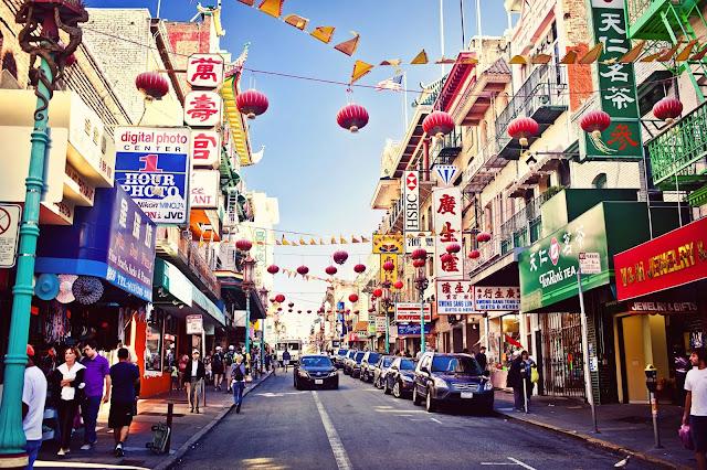 Chinatown e Japan Town em San Francisco