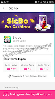 Cara Mendapatkan Hadiah Cashtree