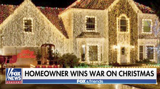 'War on Christmas': Idaho Man Wins 4-Year Battle Over Holiday Lights Display
