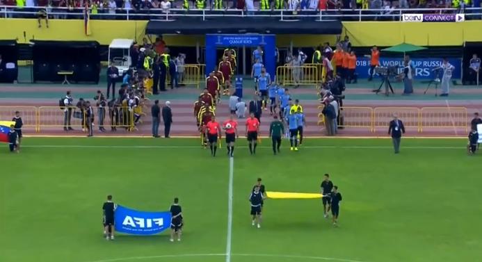 فيديو : اوروجواي وفنزويلا يتعادلان بدون اهداف الخميس  05-10-2017 تصفيات كأس العالم: أمريكا الجنوبية