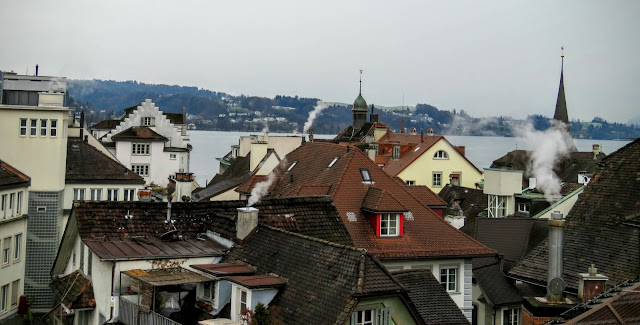 Long Winter Weekend Lucerne Switzerland - Rooftop View from Manor