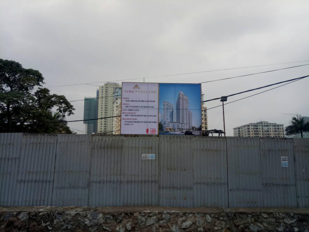 Tiến độ giải phóng mặt bằng chung cư Bel Air Hà Nội