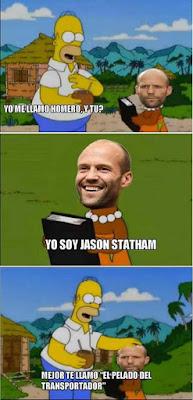 Jason Statham meme humor pelado