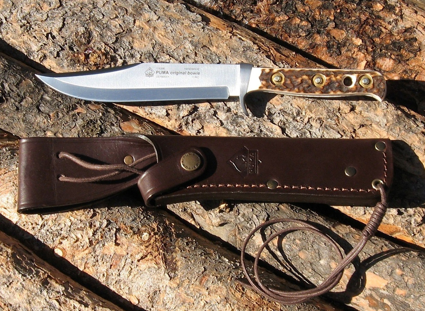 Rocky Mountain Bushcraft: REVIEW: The Puma Bowie Knife- For The