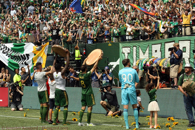 timbers army, portland timbers
