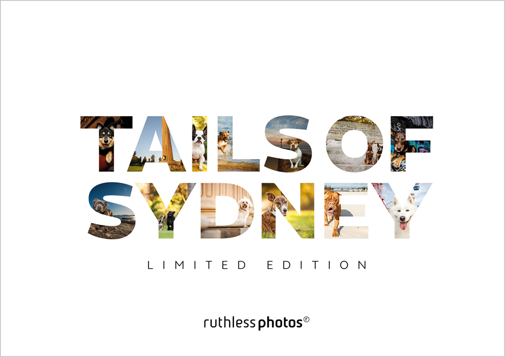 Cover of Tails of Sydney photography book by Ruthless Photos