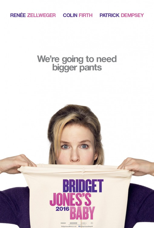 Bridget Jones Baby movie poster
