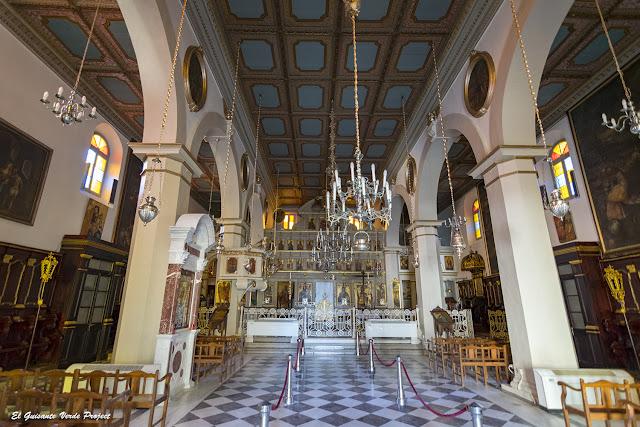 Interior de la Catedral o Panagia Spiliotissa - Corfu por El Guisante Verde Project