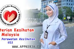 Permohonan Atendan U11 Hospital di Kementerian Kesihatan Malaysia (KKM)