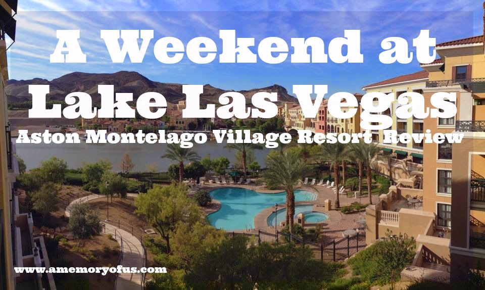 a weekend at lake las vegas