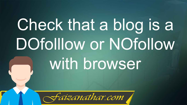 How to check Dofollow links
