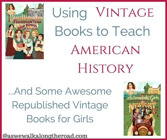 Aunt Claire Presents vintage books