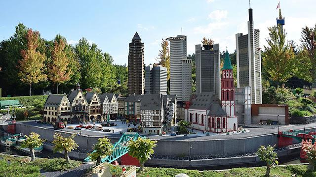 Miniland no Parque da Lego na Alemanha