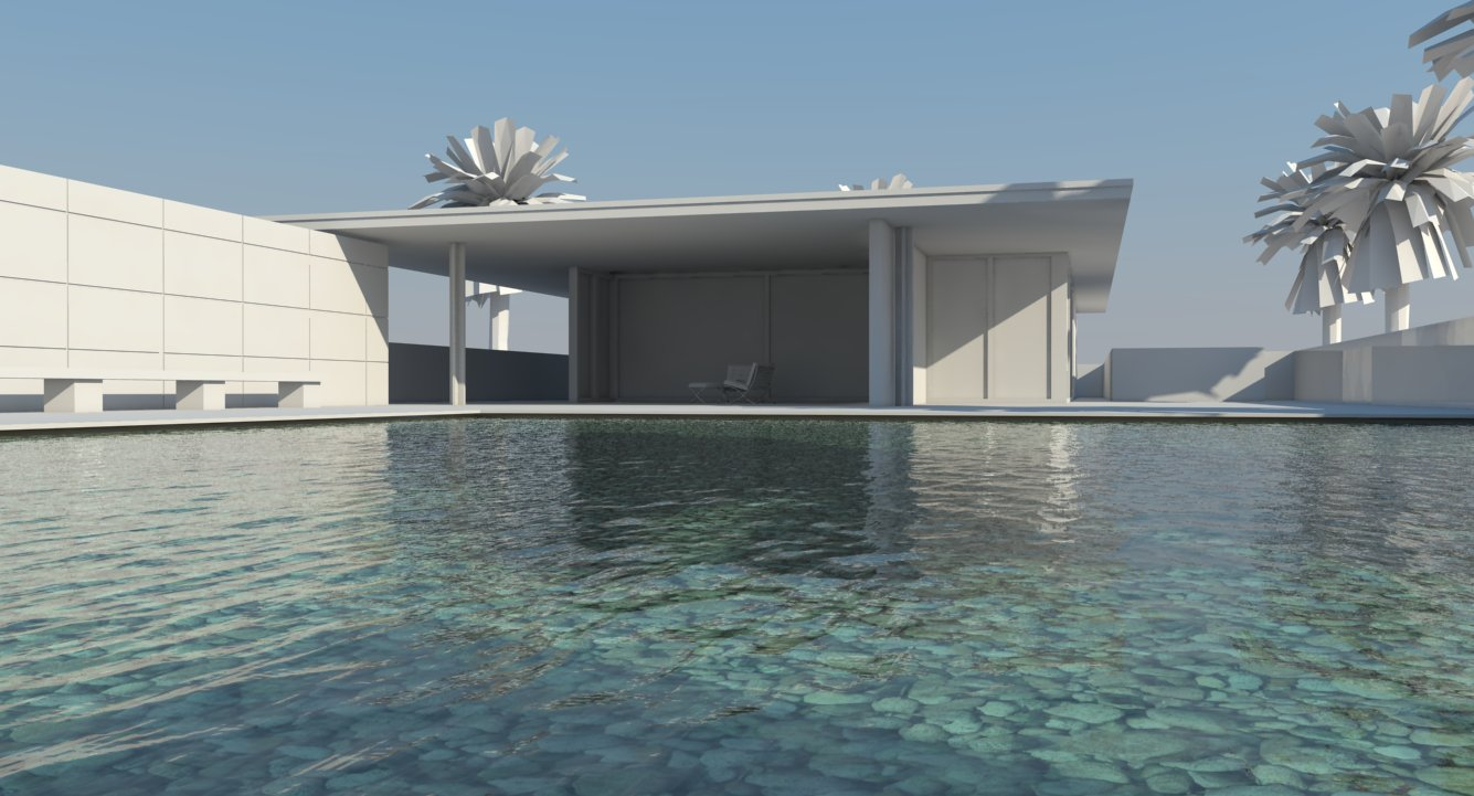 nomeradona : Tutorial: How to create Pool Water in Vray