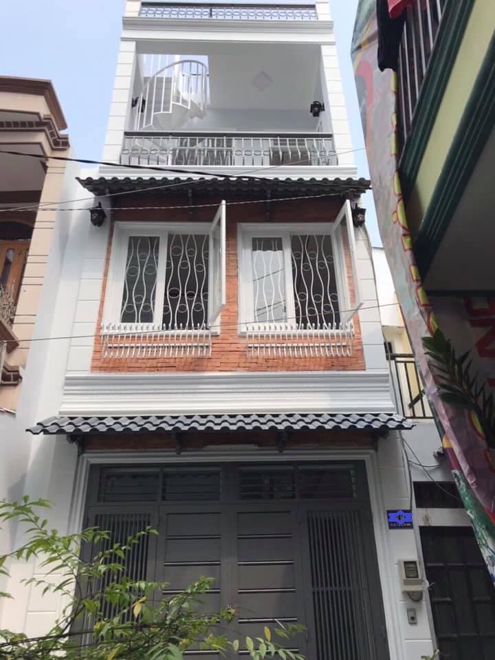 Bán nhà hẻm 594 Âu Cơ phường 10 quận Tân Bình giá rẻ