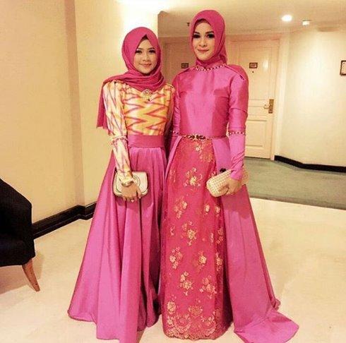 15 Contoh Model Baju Pesta Muslim Casual Yang Trendy