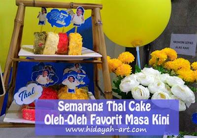 Semarang Thal Cake Menjadi Oleh-Oleh Favorit Masa Kini