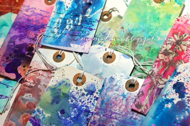 Dina Kowal Creative: Watercolor Powder Products