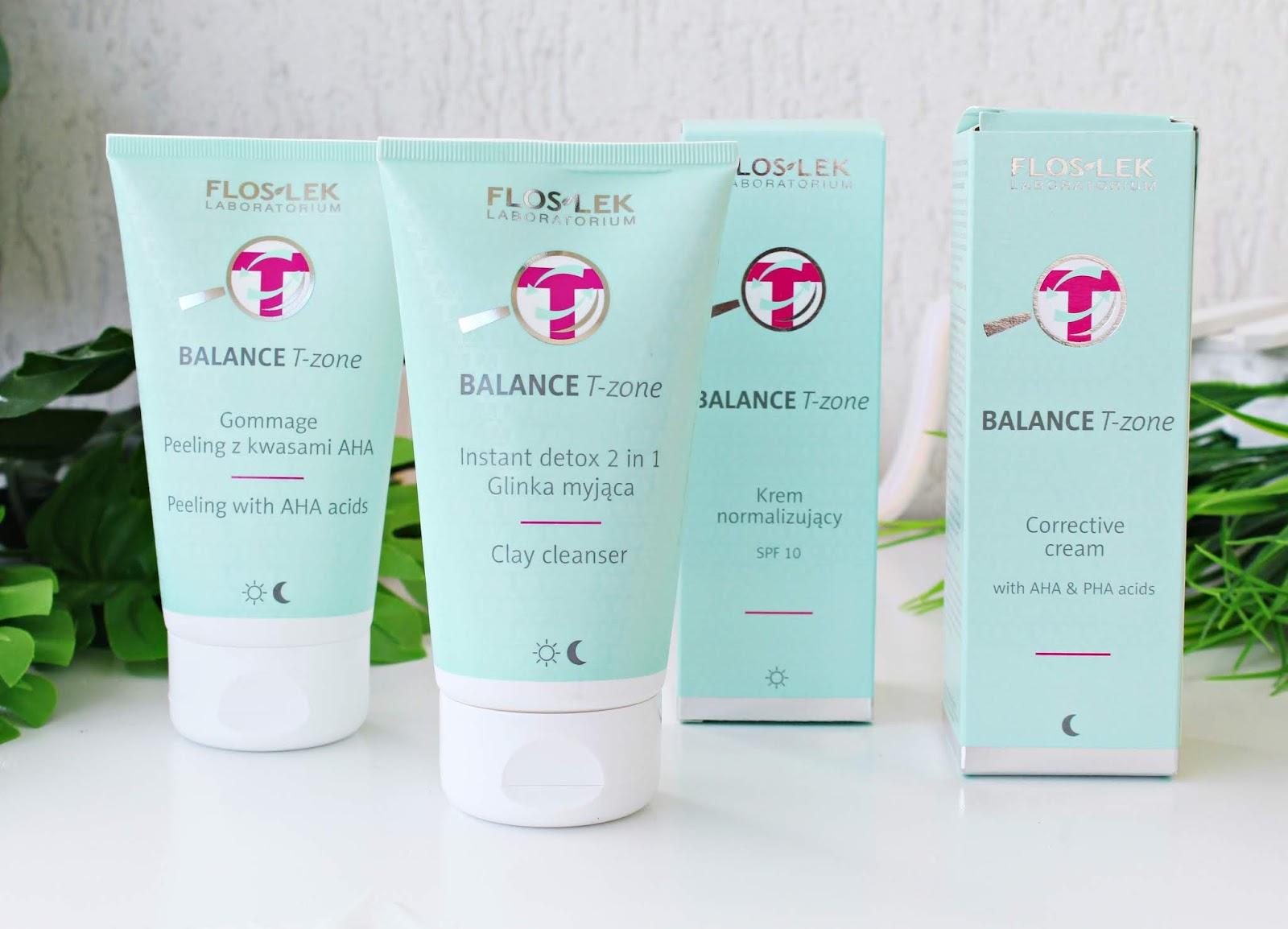 Floslek Balance T-zone - kosmetyki do cery mieszanej