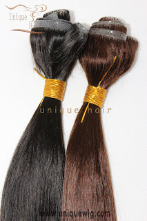 hand tied skin weft hair extensions