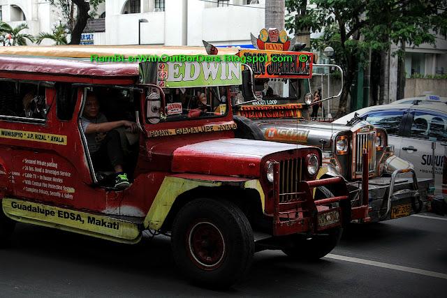 Jeepneys, Makati, Manila, Philippines