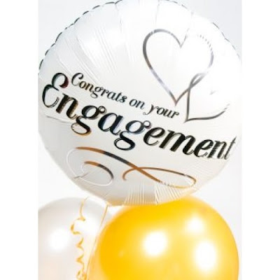 Balon Foil Engagement