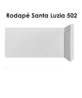 Rodapé Branco em Santana