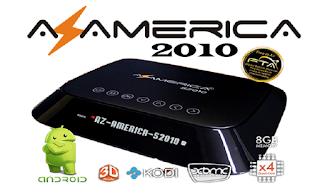 Atualização Azamérica S2010 V 3.2.8