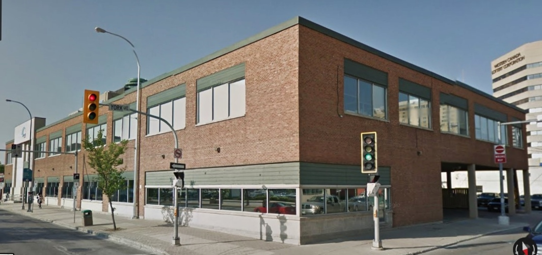 Winnipeg Downtown Places 180 Main Street Inman Motors