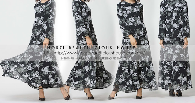 jubah menyusu cantik murah