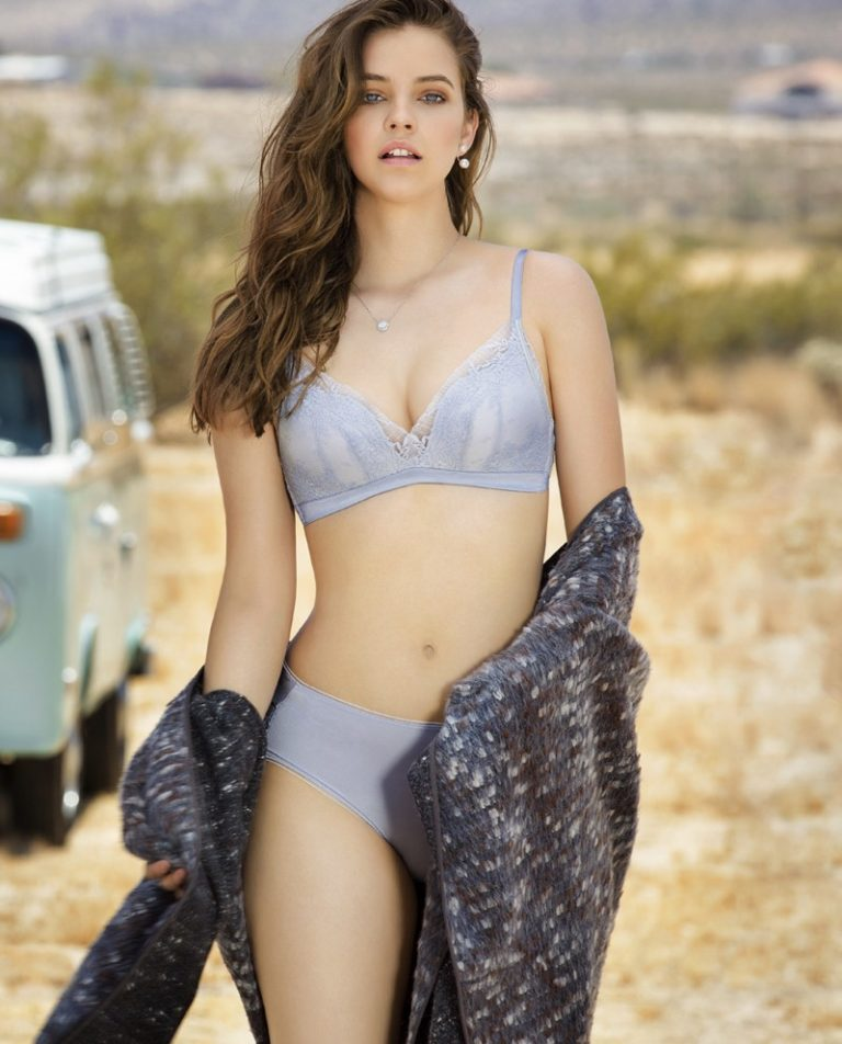 Barbara Palvin for Aimer Lingerie