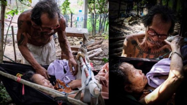 Rela Tahan Lapar, Lihatlah Pengorbanan Pria Ini Kepada Istrinya