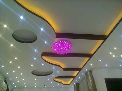 Decoration platre plafond salon 2018