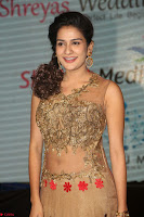 Jenny in brown transparent sleeveless anarkali dress at Shamanthakamani pre release function ~  Exclusive 030.JPG