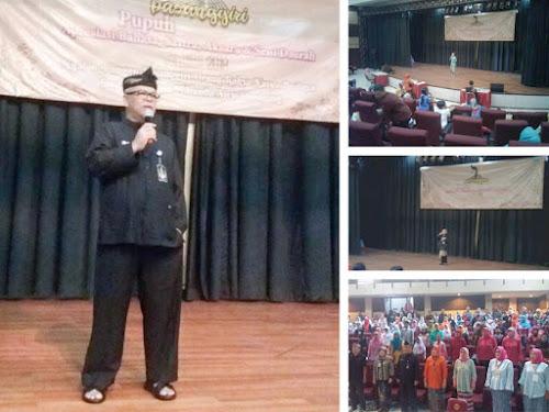 Pasanggiri Pupuh 2018 Disdik Kota Bandung