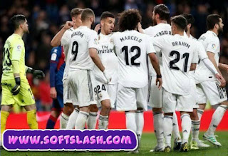 التشكيلة المتوقعة مباراة ريال سوسيداد ضد ريال مدريد عبر سوفت سلاش