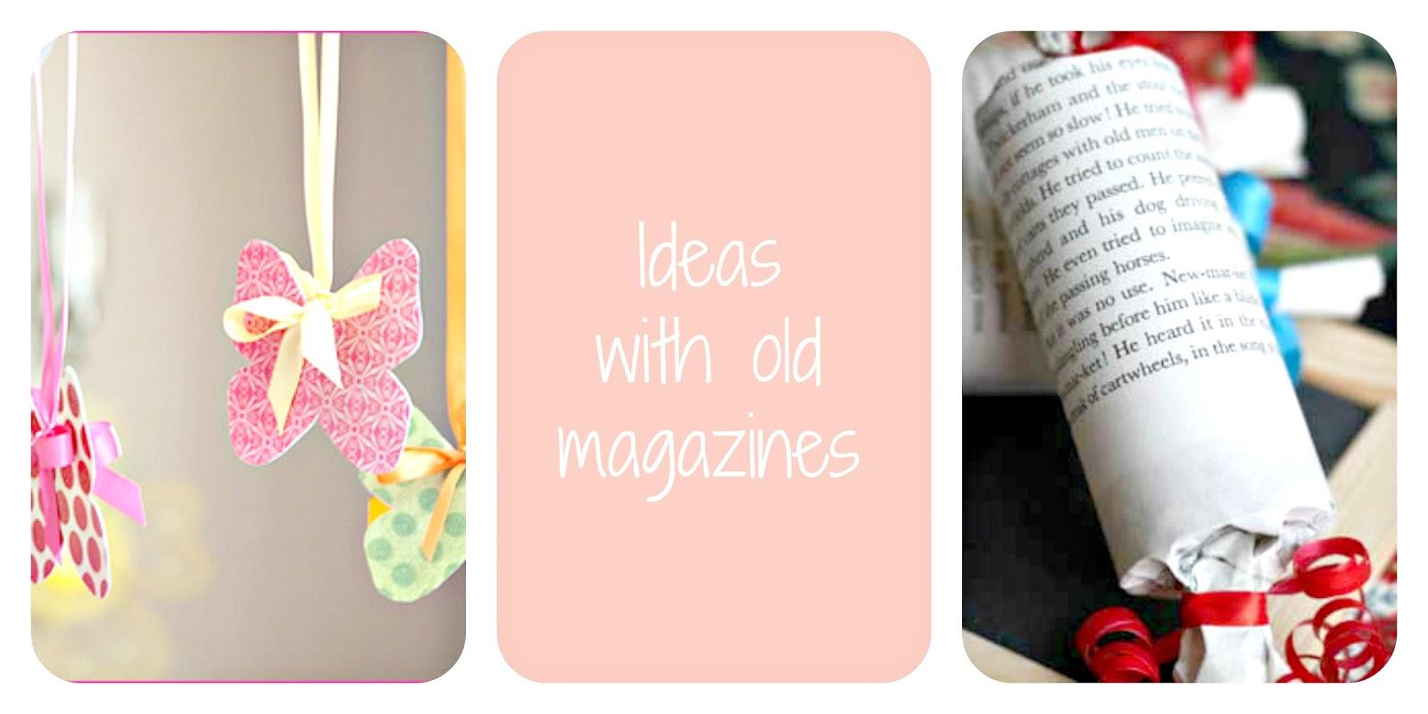 dekoracje z czasopisma