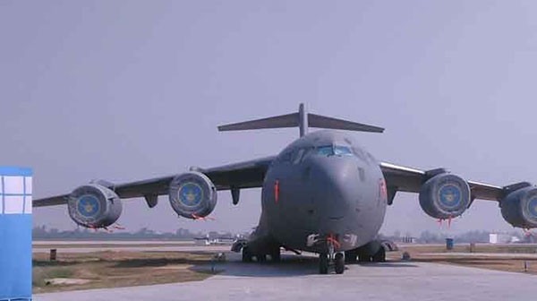 National, Budgam airbase