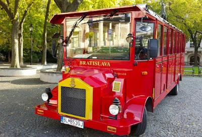 Bratislava Old Town City Tour Bus