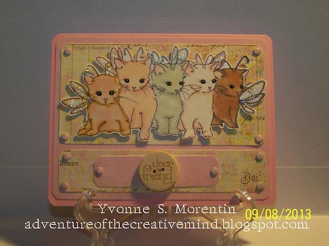 Adventure Of The Creative Mind Kitten Fairies
