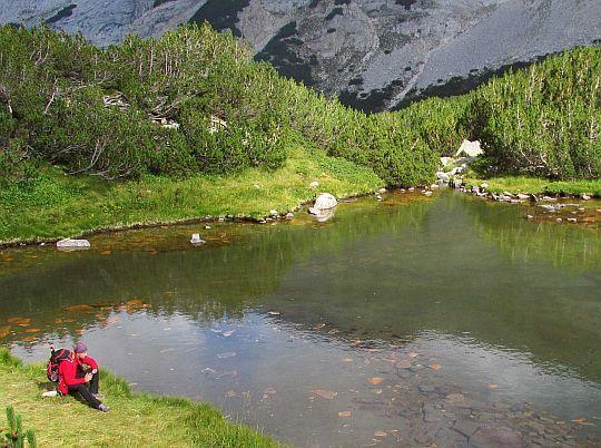 Suhodolskie Jezioro (bułg. Суходолско езеро; 2311 m n.p.m.).