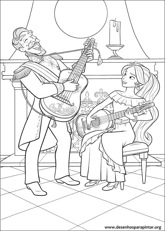 coloring pages for free images of avalor