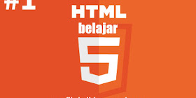 Belajar HTML Dasar Pemula Menggunakan Notepad