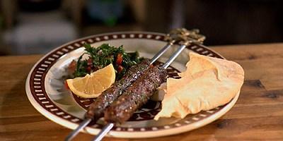 Lamb Kofta, Tabouleh Salad