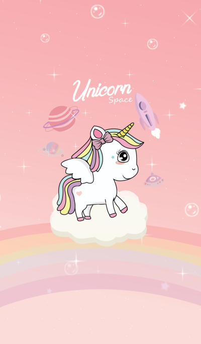 Unicorn Pink Space