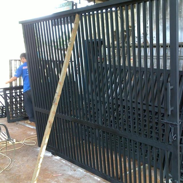 Jasa pembuatan pagar minimalis
